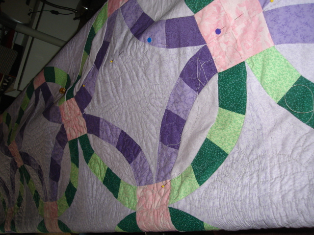 Quilt in Process Dau 1
